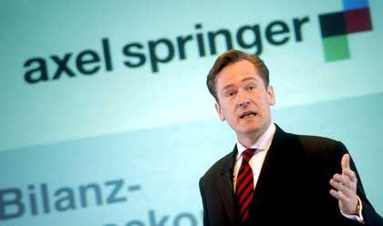 Springer-Chef Mathias Döpfner: Sträubte sich bisher gegen die Einführung einer Gratiszeitung