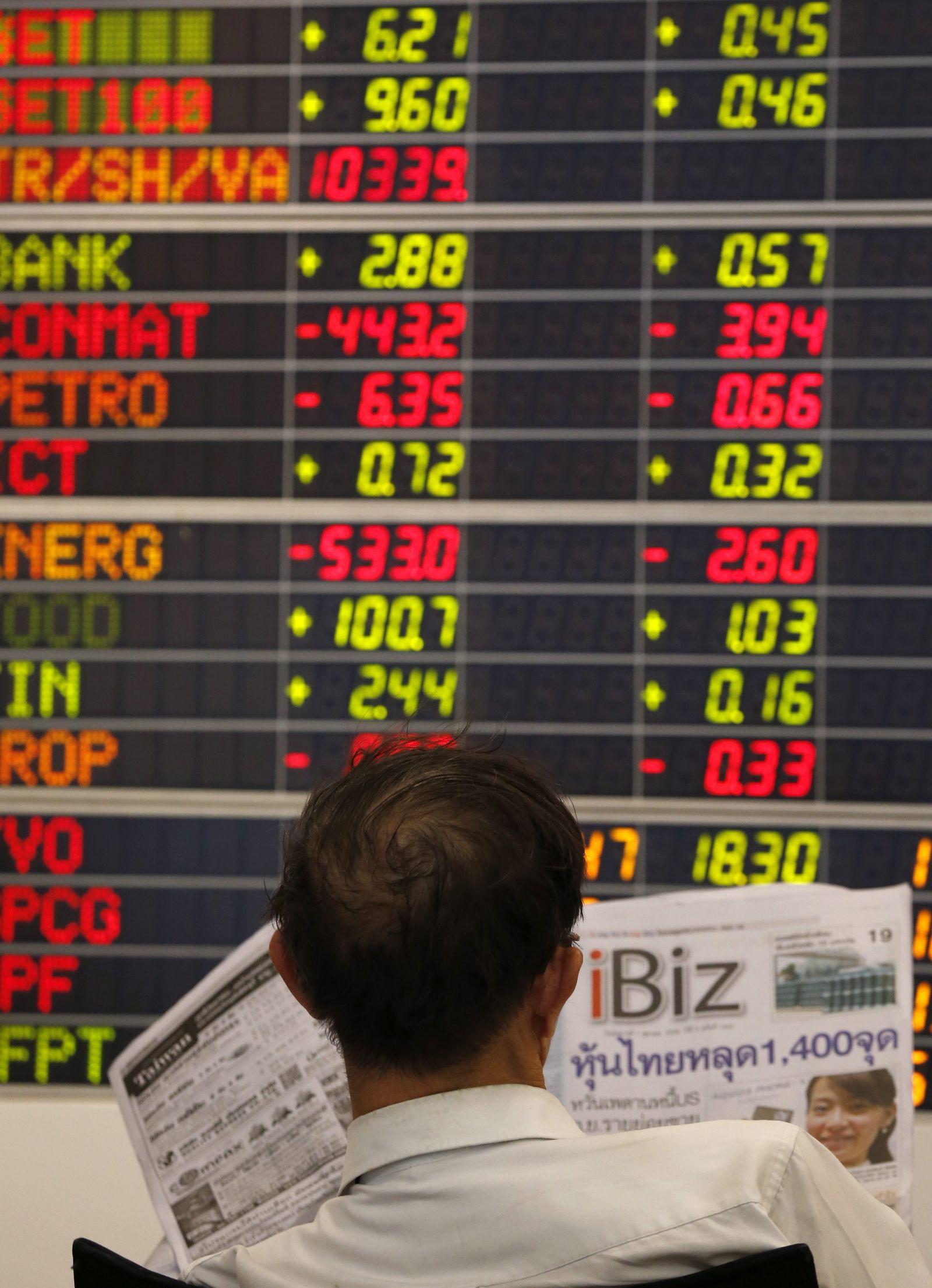 Thai shares up 15.46 points Börse