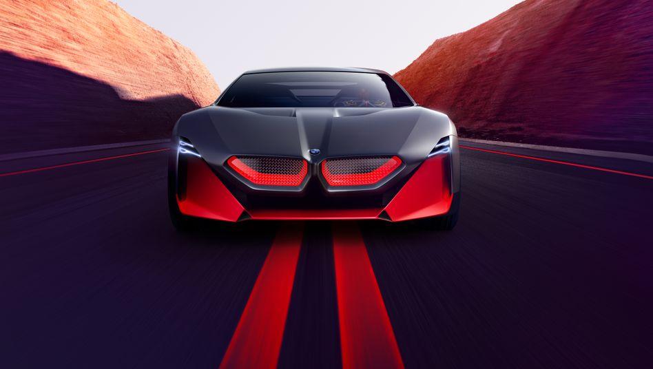 BMW Vision M: Hohe Ausgaben der Autobauer für Forschung und Entwicklung bescheren Deutschland den Spitzenplatz im Innovation Ranking