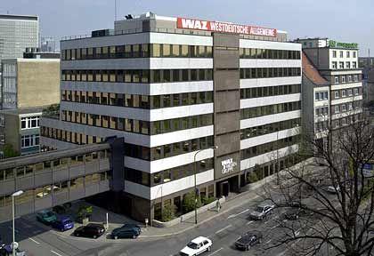 Ausdrucksloser Zweckbau: WAZ-Haupthaus in Essen