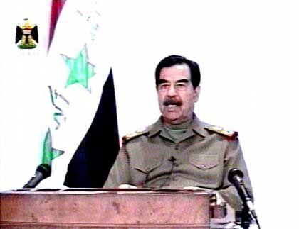 """Saddam Hussein: """"Den Widerstand fortsetzen"""""""