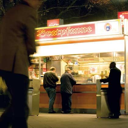 Seelenheimat: Heimelige Wurstbude in Berlin