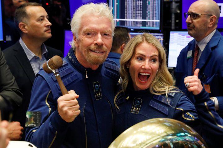 Trendsetter: Milliardär Richard Branson brachte seine Raumfahrtfirma Virgin Galactic bereits 2019 per Spac an die New Yorker Börse