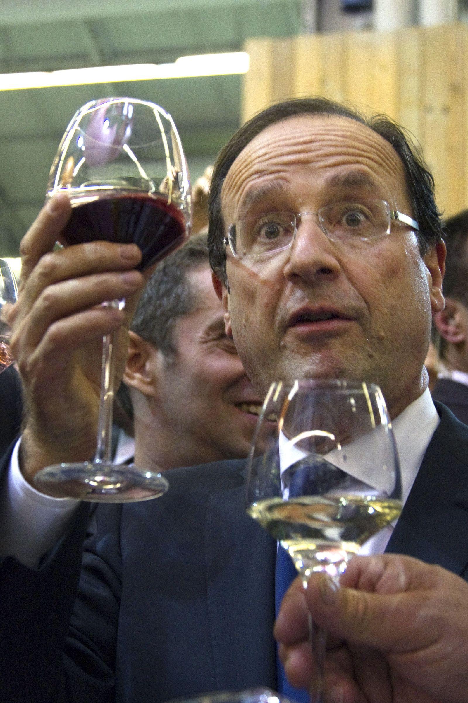 Francois Hollande / Wein