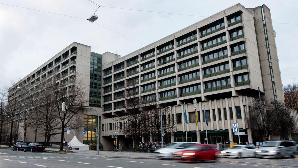 Gerichtsgebäude in München