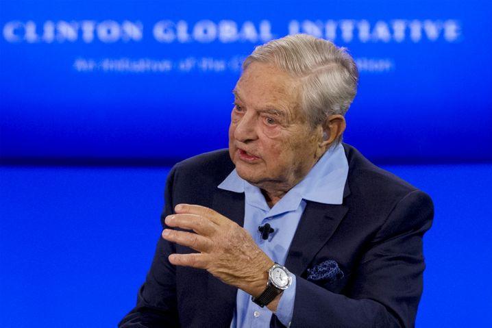Stets das Große und Ganze im Blick: Hedgefonds-Altmeister Soros macht sich Gedanken über das weltwirtschaftsliche Gleichgewicht
