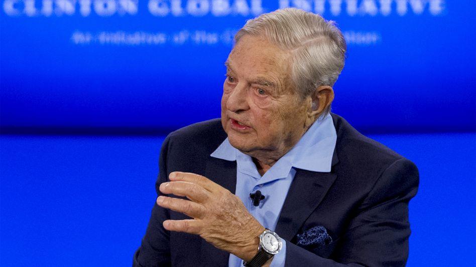 """George Soros: """"Wir stehen gegen das Putin-Regime, welches das russische Volk ausbeutet"""""""