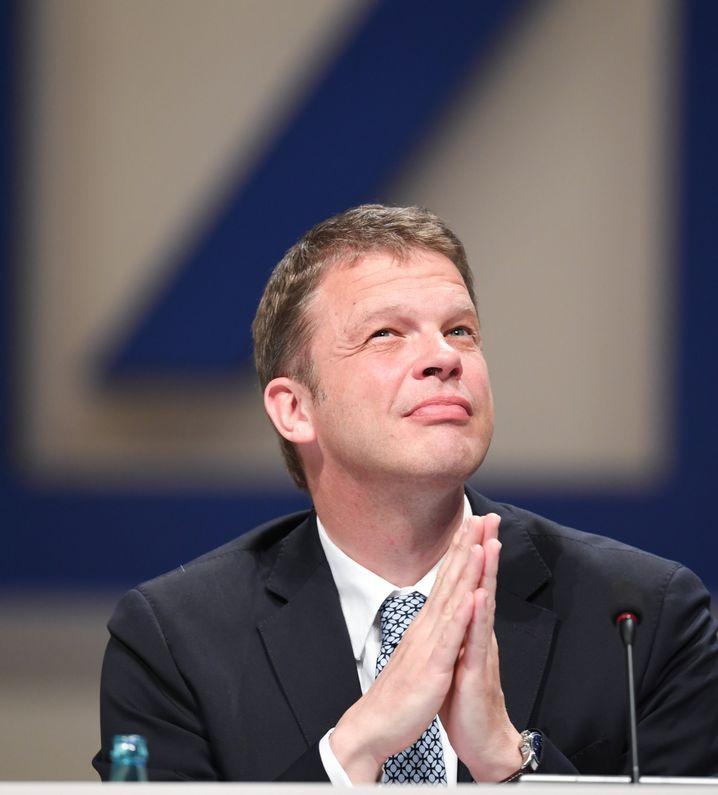 Christian Sewing: Investmentbanking soll schrumpfen