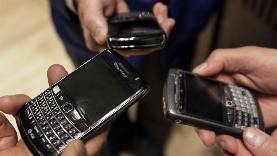 Blackberrys: iPhone und Co. haben den Organizern den Rang abgelaufen