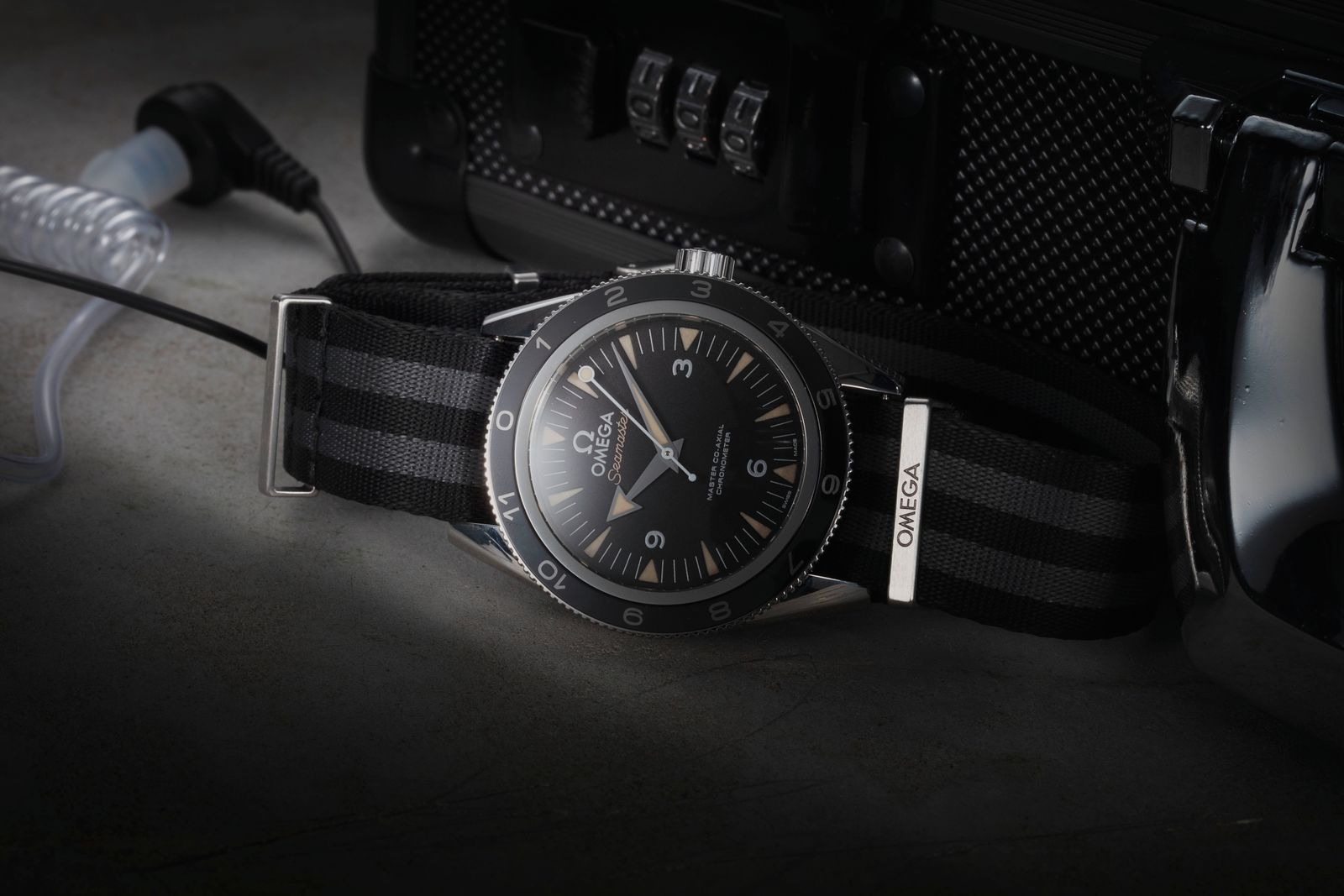 Daniel Craig - Omega Seamaster 300 Spectre Limited Edition 233.32.41.21.01.001