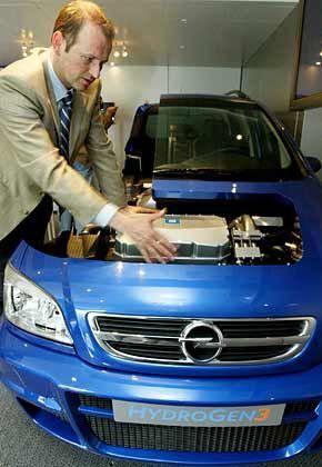 Brennstoffzelle inside: In sechs Jahren will Opel erste Serienmodelle verkaufen