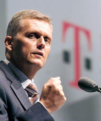 Will sein Glasfasernetz nur unter Ausschluss der Konkurrenz bauen: Telekom-Chef Kai-Uwe Ricke