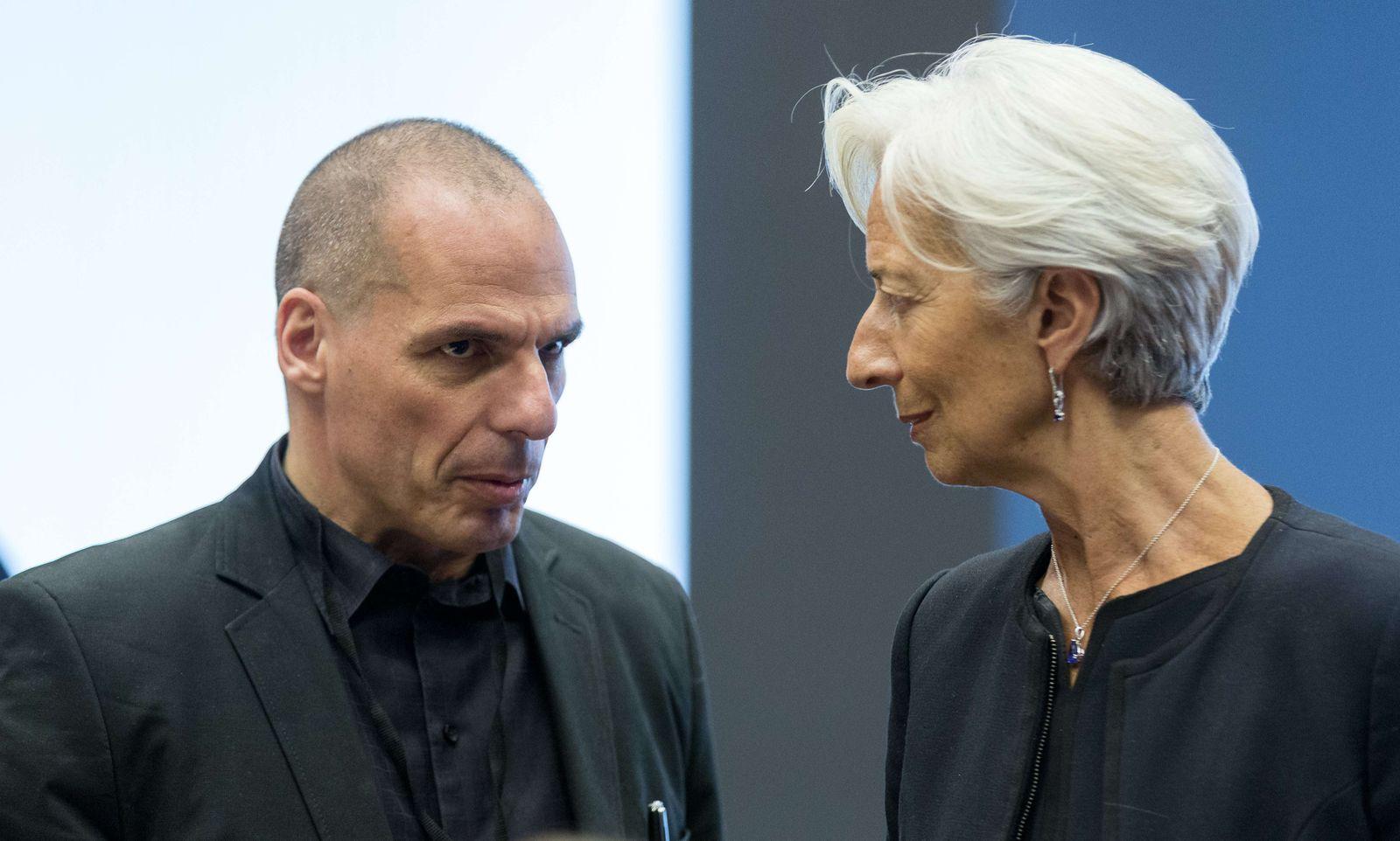 Lagarde/ Tsipras