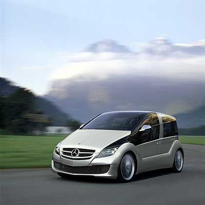 Mercedes F 600 HY-Genius: Forschungsauto im Kompaktvan-Format