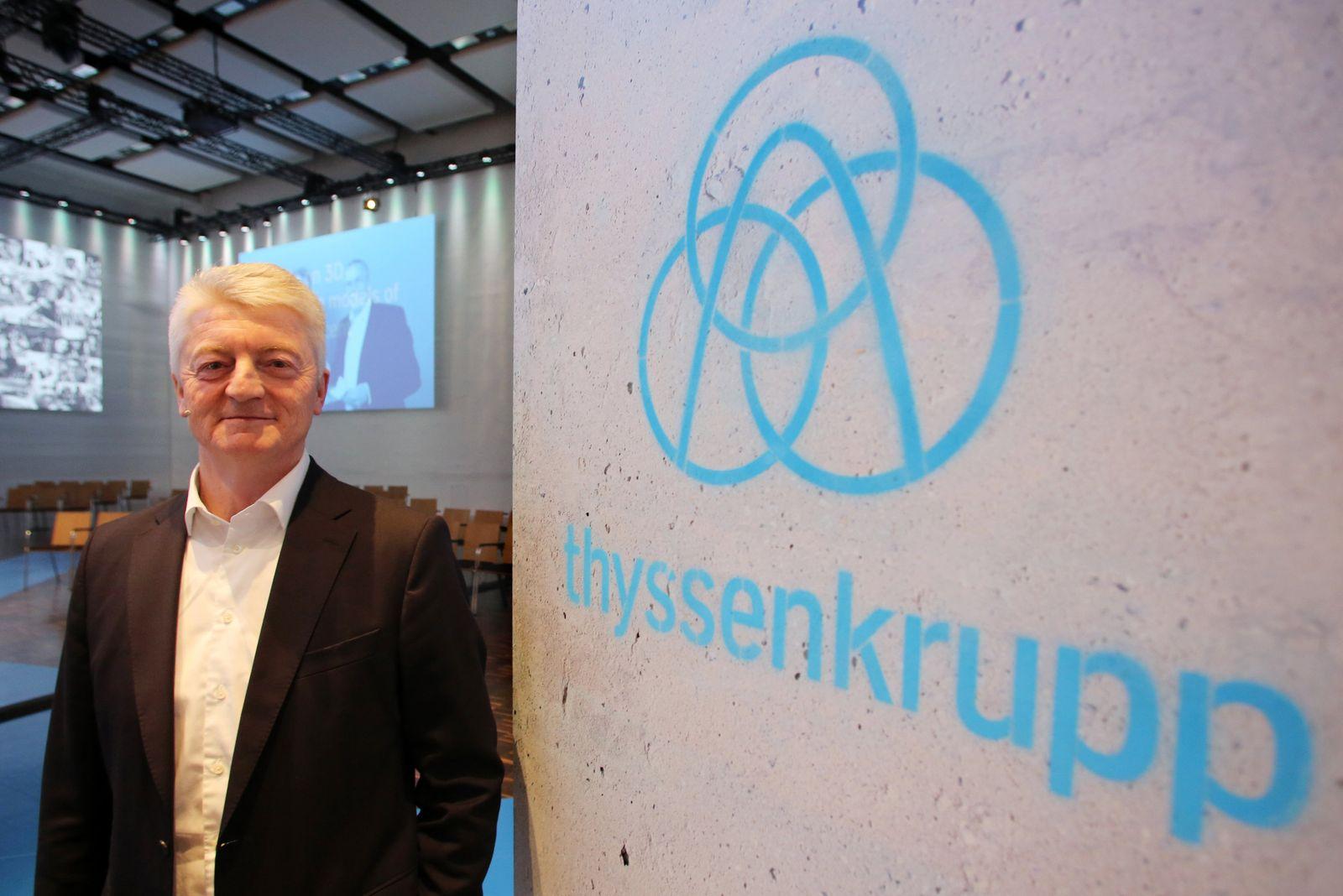 ThyssenKrupp / Neues Logo