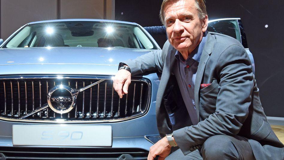 Volvo-Chef Håkan Samuelsson sagt der Raserei den Kampf an
