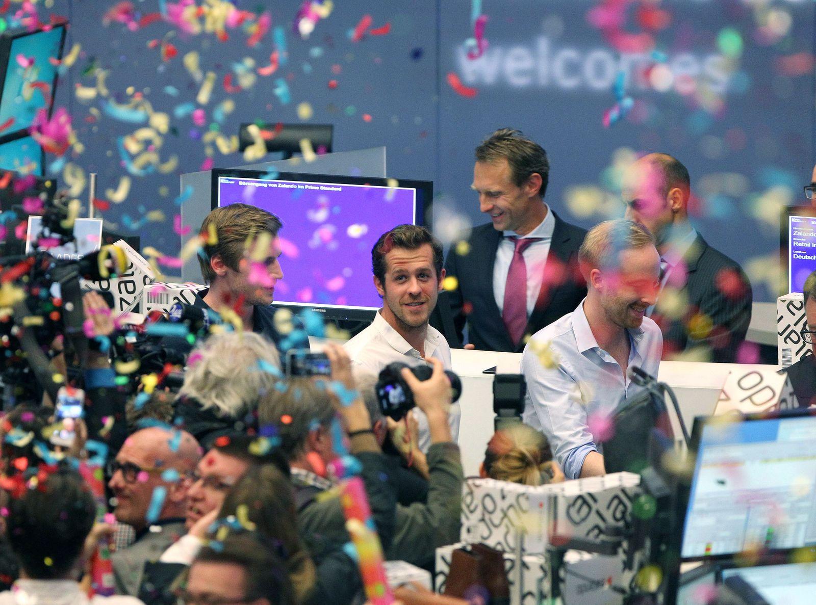 GERMANANY-FINANCE-ZALANDO-IPO-STOCK EXCHANGE