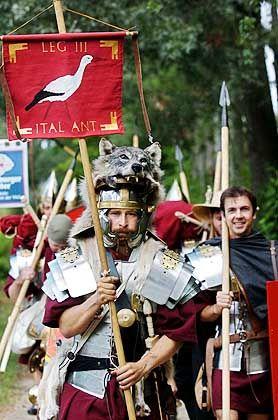 Kein Vorbild: Das Römische Reich ist Vergangenheit