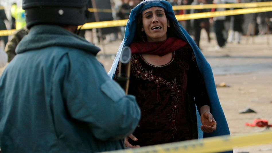 Trauer in Kabul: Viele Tote in Afghanistan