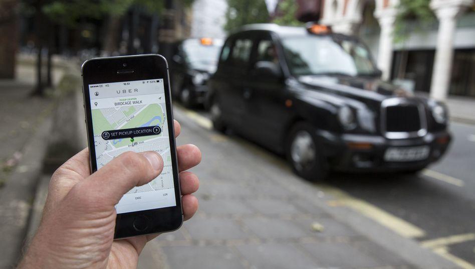 Ein Klick und der Uber-Fahrer kommt: Gegen den Fahrdienst regt sich weltweit Protest
