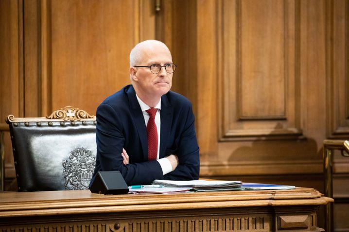 Im Fokus der Opposition: Hamburgs Bürgermeister Peter Tschentscher (SPD)
