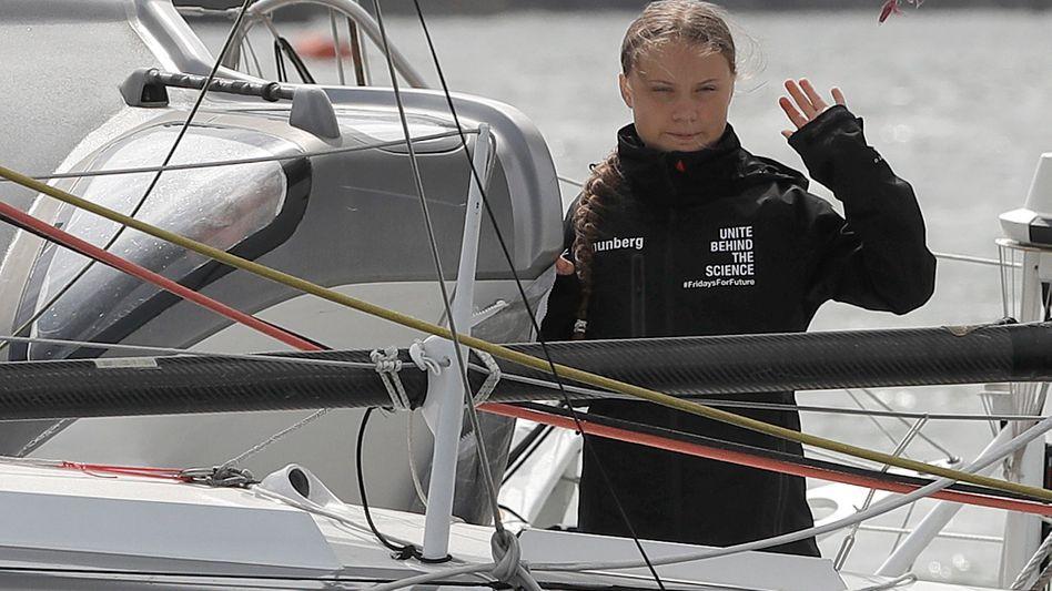 Greta Thunberg: Auf dem Segelboot in die USA