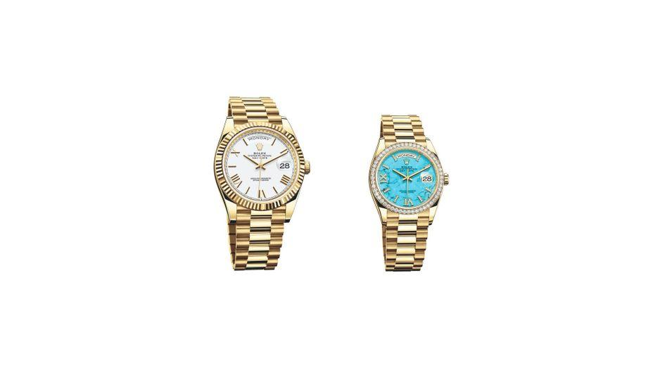 Rolex Day-Date: Laut Julius-Bär-Report ist die Luxusuhr bis zu 14.000 Dollar günstiger, wenn man sie in der richtigen Stadt kauft