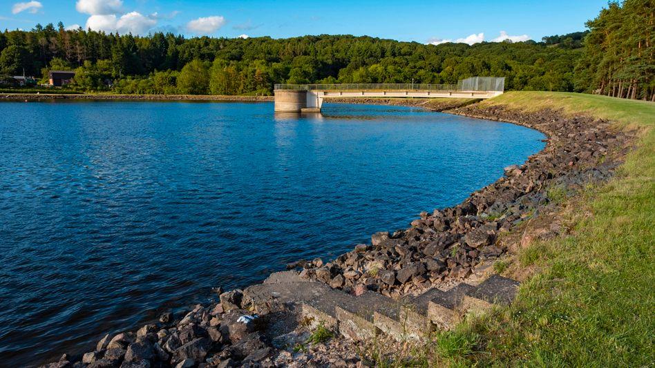Abgesicherte Einnahmen: Wasserreservoir von Severn Trent in Worcestershire