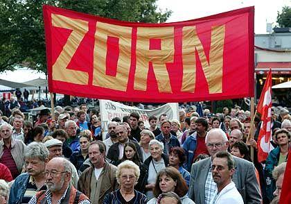 Hartz-IV-Proteste: Trotz Verunsicherung bliebt die Kündigungswelle aus