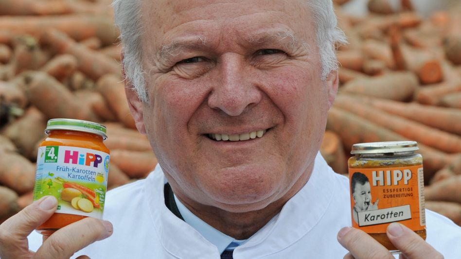 52 Jahre Brei im Gläschen, 44 Jahre unter der Führung von Claus Hipp