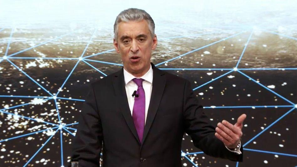 Krisengewinner: Postchef Frank Appel präsentiert die Bilanz für 2020