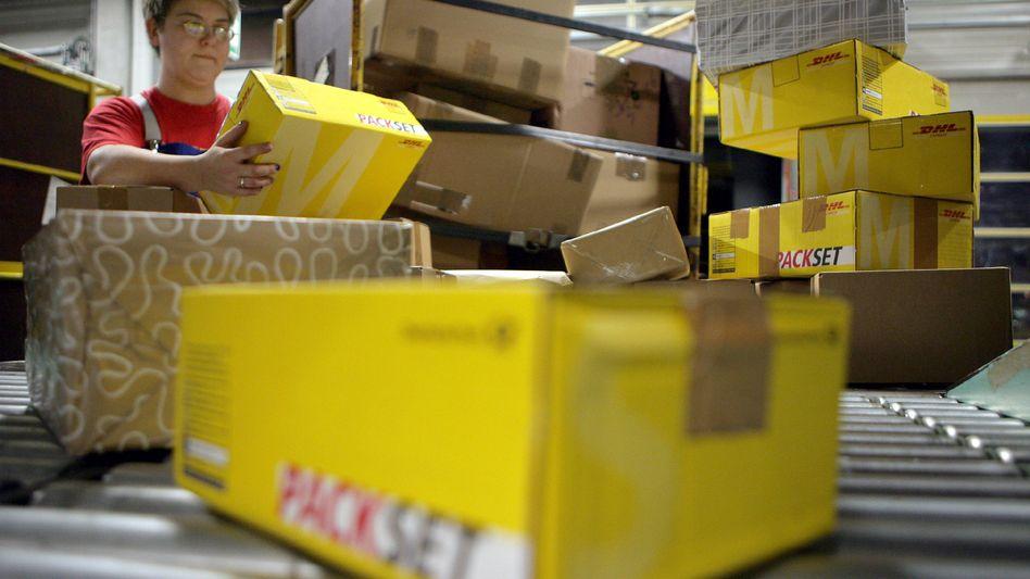 Paketsortierung bei der Post: Künftig soll der Kunde vorher wissen, wann das Paket kommt