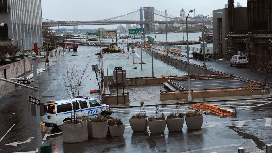 """Überfluteter Brooklyn Battery Tunnel in New York: """"Wir sind abhängiger von Elektrizität als von Straßen"""""""