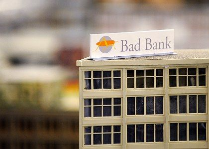 Anstalt in der Anstalt: Der neue Bad-Bank-Entwurf der Regierung zielt vor allem auf Landesbanken