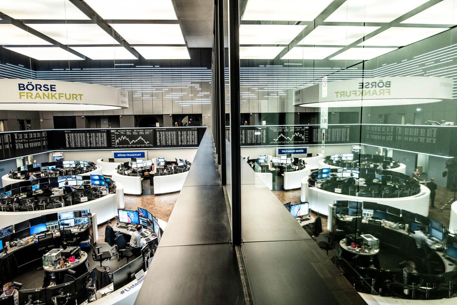 Handelsraum Deutsche Boerse AG