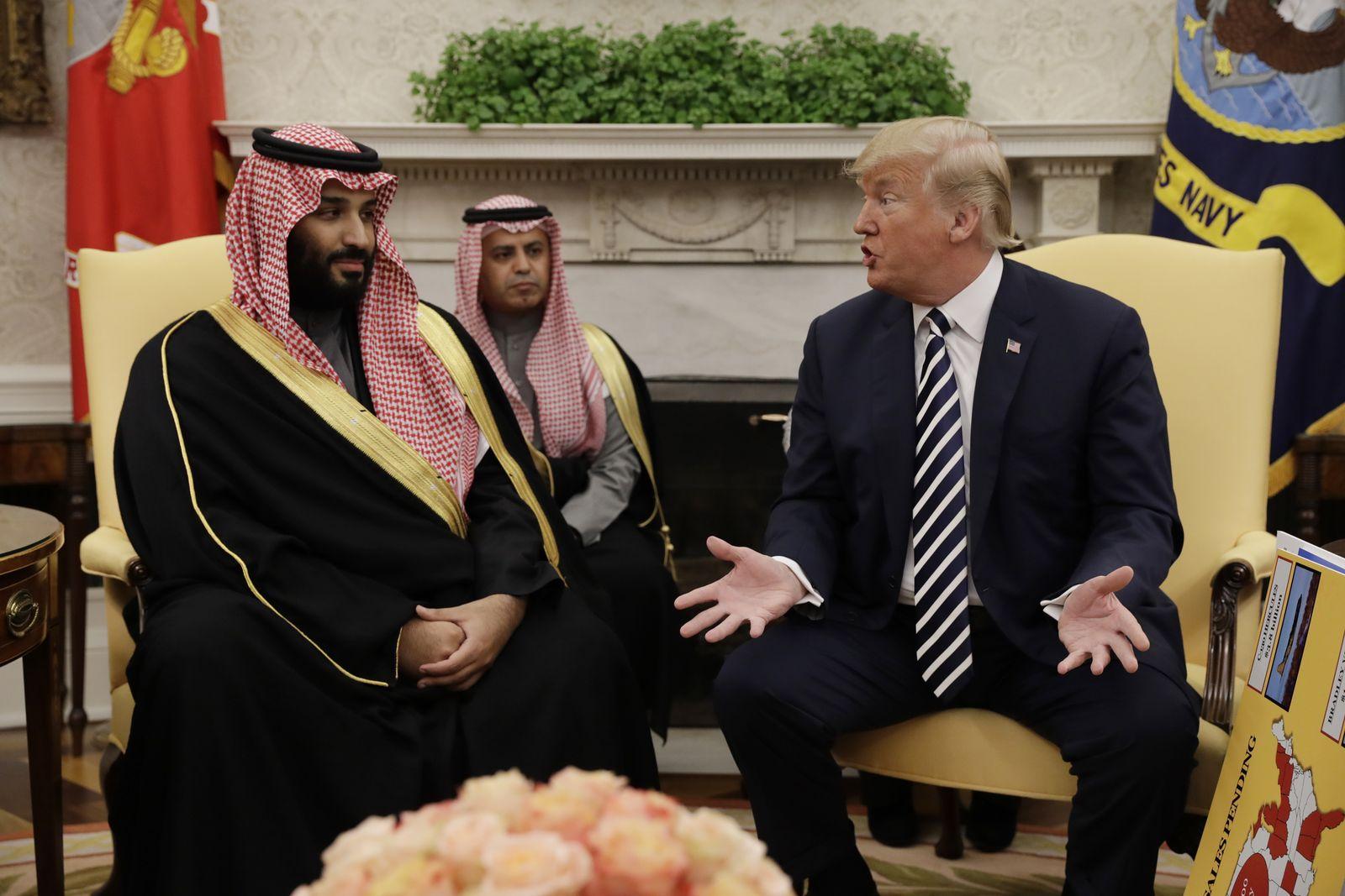 Mohammed bin Salman/ DonaldTrump