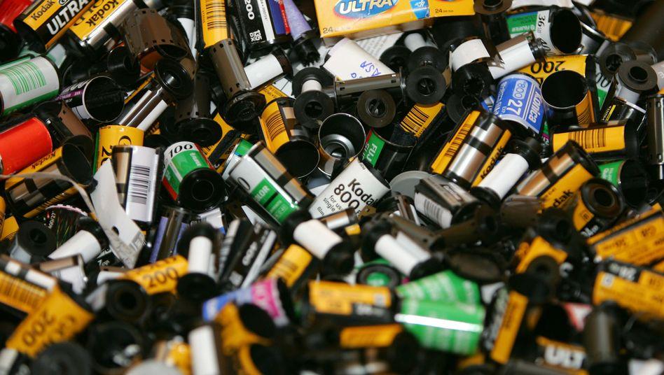 Kodak-Filme: Seit Beginn der Digitalfotografie lässt sich damit kein Geld mehr verdienen