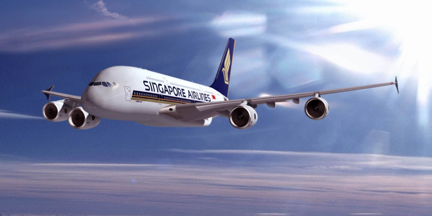 Singapore Airlines; A380