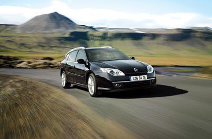 Elegante Linien: Der neue Renault Laguna Grandtour