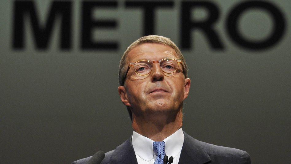Vor der Aufgabe: Der Vorstandsvorsitzende der Metro AG, Eckhard Cordes