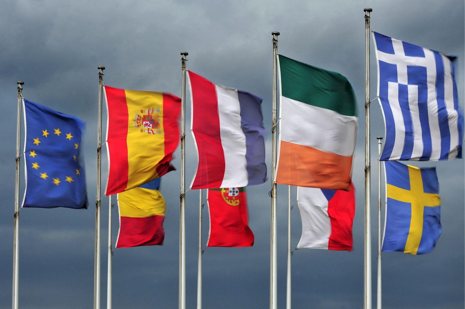 EINMALIGE VERWENDUNG EU - Flaggen