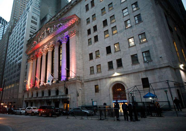 Zentrale der New York Stock Exchange: Obama hat die Finanzbranche verprellt