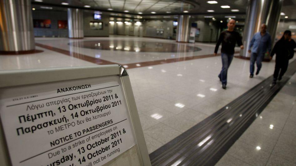 Streik in Griechenland: Den Aussichten des Lande hilft die Blockadehaltung nicht gerade