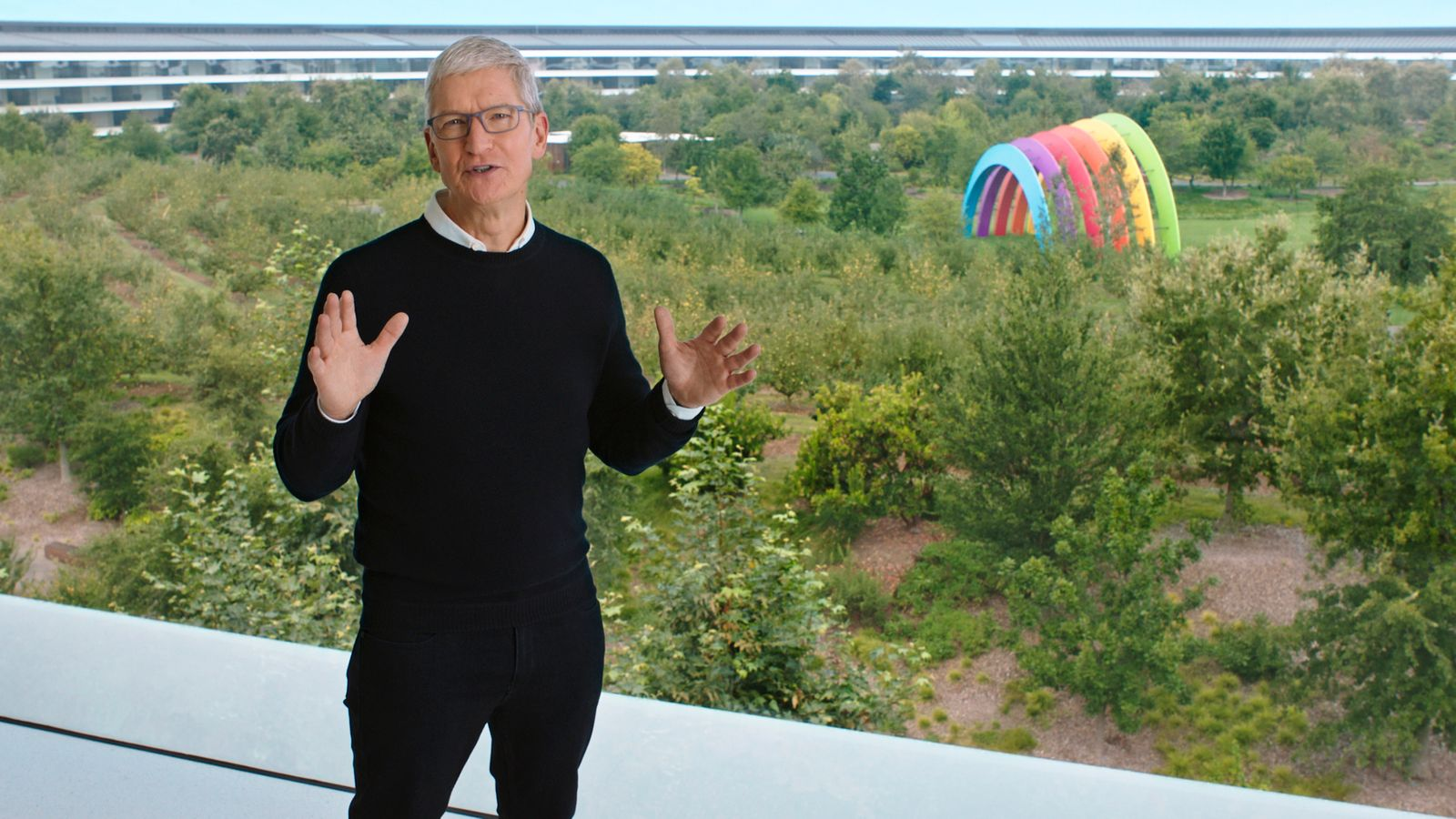 Apple launches new products at online event
