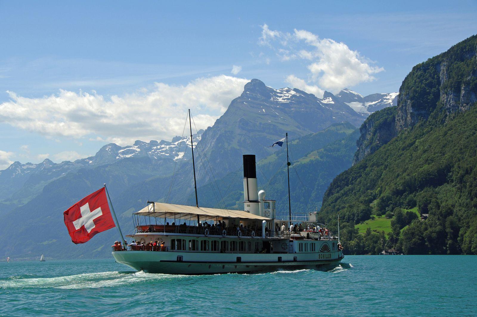 EINMALIGE VERWENDUNG Vierwaldstättersee; Luzern