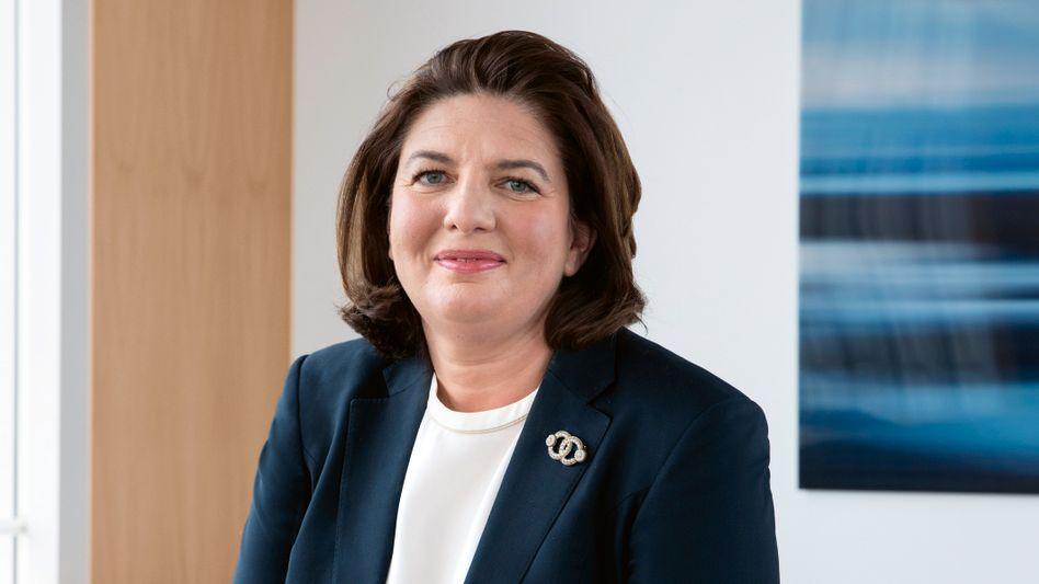 Schatzhüterin: Die neue Amundi-Chefin Valérie Baudson fängt im Mai an der Spitze des 1,7-Billionen-Euro-Verwalters an