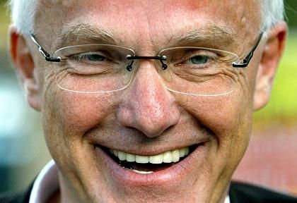 Wahlkampf bis zum Schluss: Herausforderer Jürgen Rüttgers (CDU) wird den amtierenden Ministerpräsidenten Peer Steinbrück ablösen