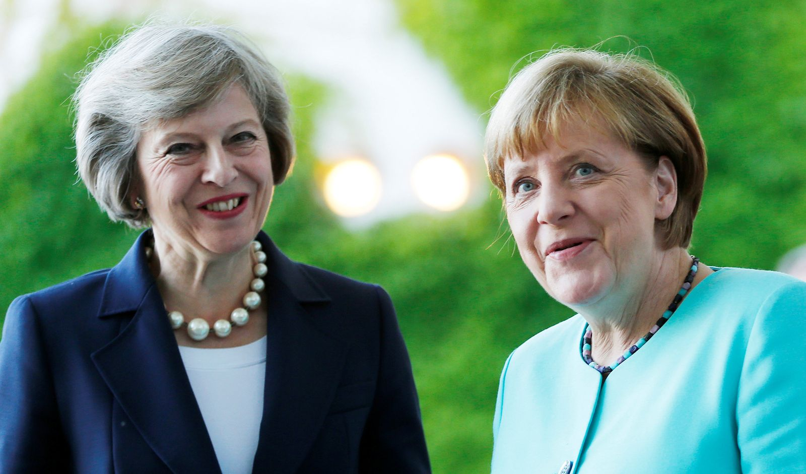 Theresa May / Angela Merkel