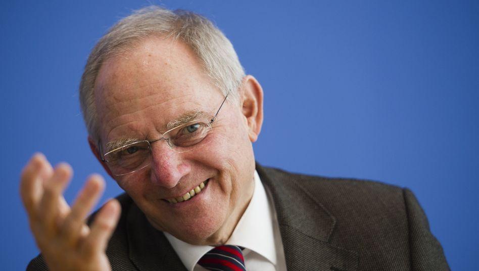Finanzminister Wolfgang Schäuble: Deutschland kann sich extrem günstig refinanzieren