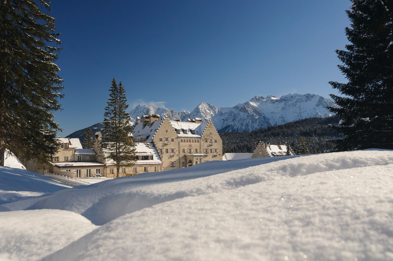 EINMALIGE VERWENDUNG Hotel Kranzbach